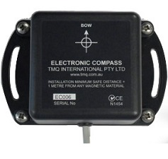 Electronic compass sensor with 5 metres of cable